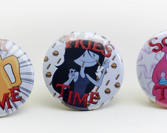 Adventure Time badges 1.2in