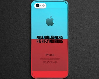 Noel Gallagher's High Flying Birds Cover Art Clear 3D Printed Printed iPhone5/5s, iPhone6/6s, iPhone6/6s Plus, iPhone7, iPhone7 Plus Case