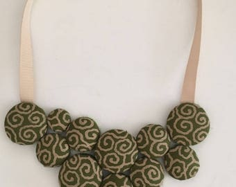 green japan necklace