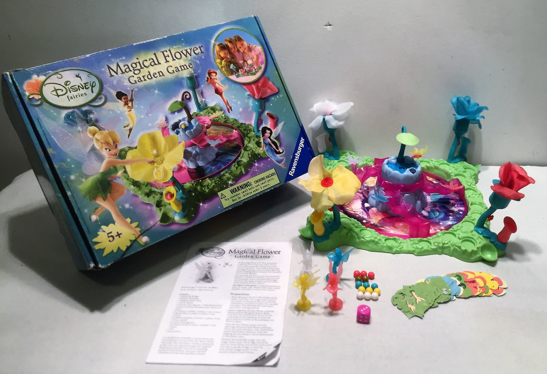 ravensburger disney fairies magical flower garden board game