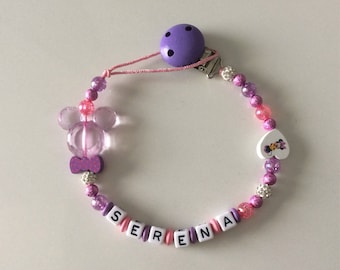 Bead name choice pacifier