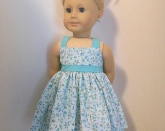 Simply Summer= A sundress for American Girl dolls