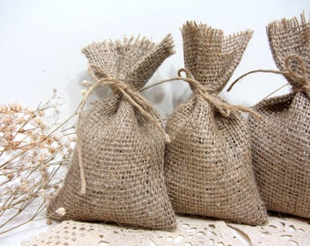 Hessian Favour Bags, Burlap Favor Bags, Wedding Favour Bags, Rustic Wedding, Country, Shabby Chic Weddings  Rustic gift bags, Burlap wedding