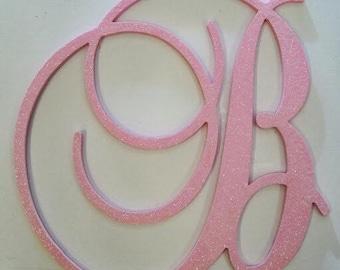 Wall Letters, 24 inch, nursery wall letters, Nursery Letters, Nurser Decor, GLITTER and SPARKLE