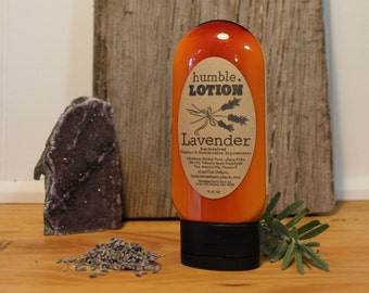 Organic Lavender Lotion *Made with essential oils - New Recipe