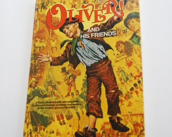 Vintage Book, Oliver! And His Friends