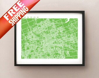 London Ontario Map