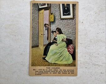1908 Funny Romantic Post Card
