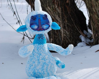 The spirit of the snow forest (Yeti)
