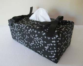 Tissue Box Cover/Cross