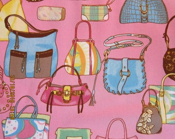 "RARE ALEXANDER HENRY Fashion Fabric ""in the bag"" 2003 Rare - 1/2 Yard - #M27"