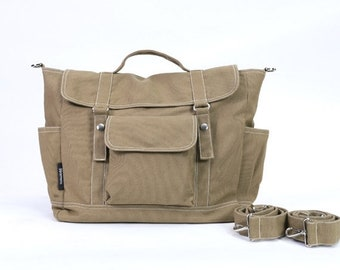 Mother s Day Big Sale DYLAN // Sandy Brown / Lined with Beige / 078 // Ship in 3 days // Backpack / Diaper bag / Shoulder bag / Tote bag / M