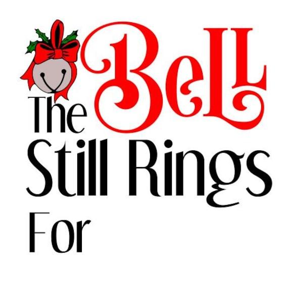 the bell still rings svg dxf jpg png polar express christmas rh etsystudio com polar express ticket clipart polar express clip art free