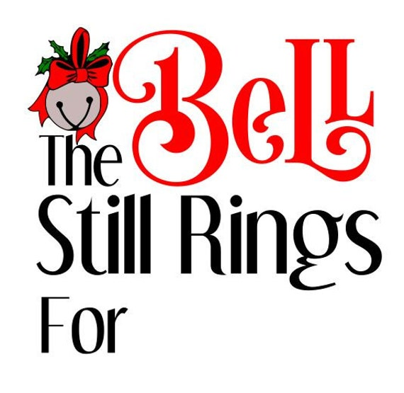 the bell still rings svg dxf jpg png polar express christmas rh etsystudio com polar express clipart black and white polar express clip art black and white