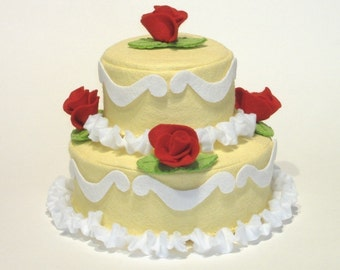 Cake Decorator Felt Food PDF Pattern