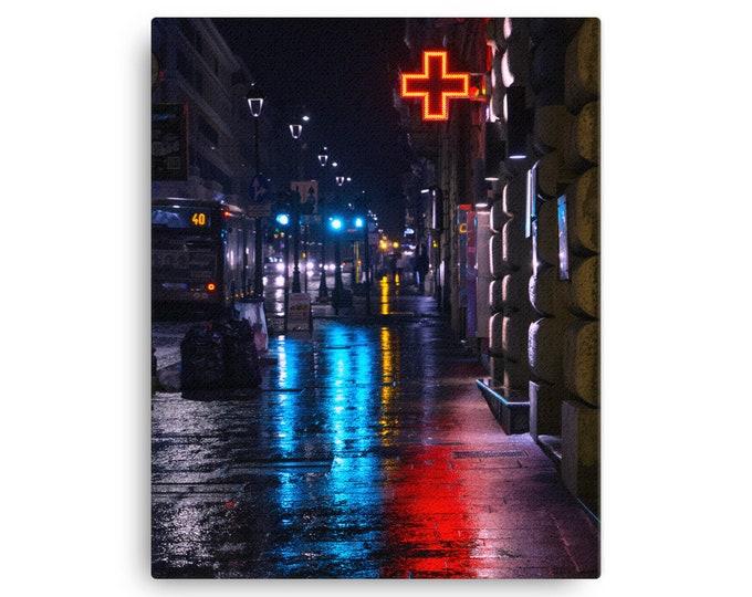 Roman Streets Canvas Print- 16x20