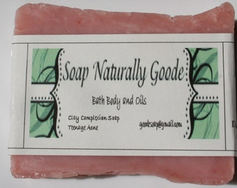 Clay Complexion Teenage Acne Soap