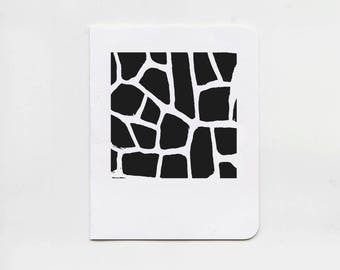 Mosaic No.10 Black Greeting Cards - Set of 5 Note Cards