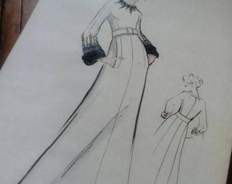 RARE design couture BALMAIN number 428 P.