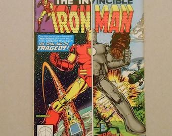Iron Man #144; Origin Jim Rhodes; Iron Man Origin; Iron Man Vietnam War; Sunturion vs Iron Man; Star Well Station Battle; Key Comic!