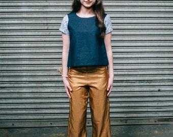 Copper High Rise Trouser