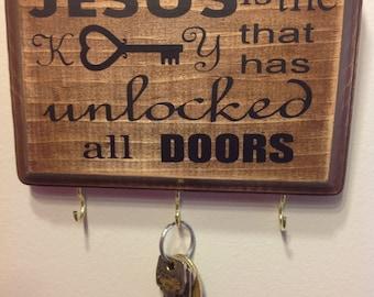 Jesus is the Key key holder
