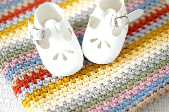Baby Decke häkeln Muster Neugeborenen afghanisch Krippe