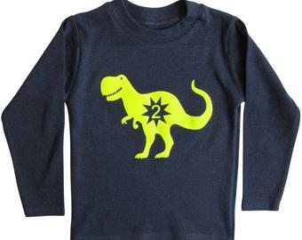 Dinosaur Birthday T shirt
