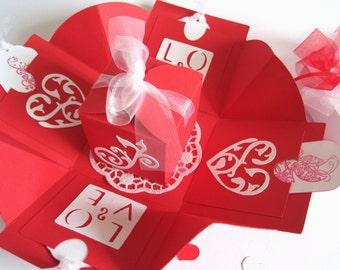 Money Gift gift box for wedding