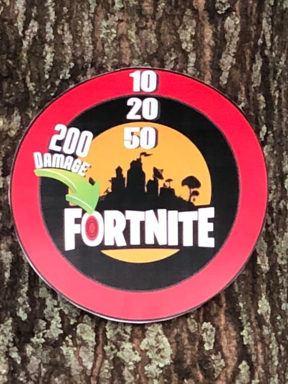 Brand new Fortnite Airsoft target Nerf target Fortnite shooting WF42