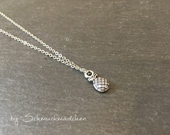 Chain silver pineapple simply