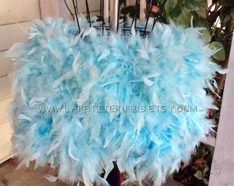 Adult cake smash, feather tutu, maternity tutu, photo prop, feather skirt, mommy to be, hand sewn, maternity skirt, feather skirt, womens
