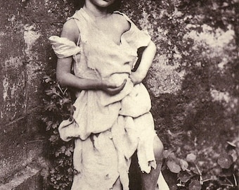 Lewis Carroll Photo - Young Alice Liddell Dressed as a Beggar, 1858
