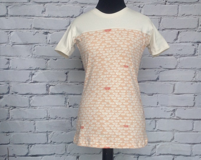 Blush Short Sleeve Organic Cotton T Shirt