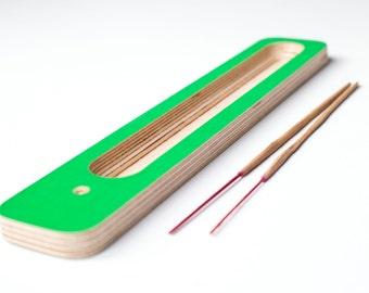 Incense Stick Burner Incense Holder Green