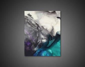 Abstract Canvas Art - abstract wall art, canvas art PRINT, modern wall art, giclee canvas print, large canvas art, abstract art painting