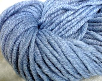 Light Blue Yarn Chunky Knitting Yarn Alize Superlana Maxi
