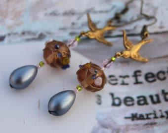 Little Sparrow Victorian Drop Earrings