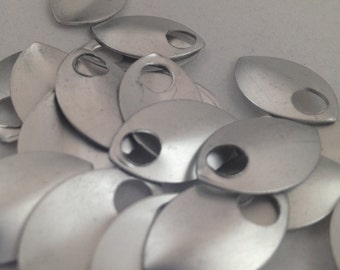 Small Frost scales- Anodized Aluminum (50 or 100 count bags)