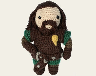 Ned Stark - Game of Thrones. Amigurumi Pattern PDF, DIY, Crafts, Crochet Pattern, Winterfell, Hand of the King, Doll, Geek Gift, TV Series