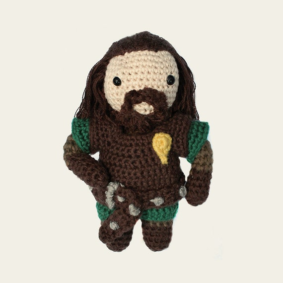 Ned Stark - Game of Thrones. Amigurumi Pattern PDF.