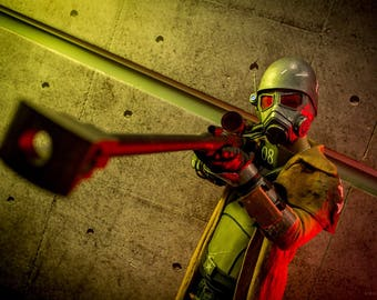 Ranger NCR's sniper rifle, Fallout: New Vegas, Fallout 4, Game, Prop, Weapon, Cosplay, Costume, Halloween, 3d printing
