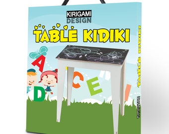 Table for kids: let them spend more time creating everyday new things