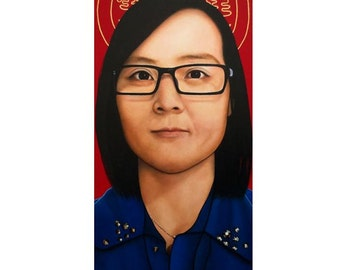 True Beauty - Doris Cai  -  By Toronto Portrait Artist Malinda Prud'homme