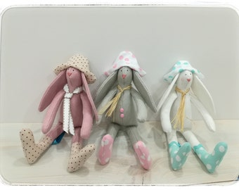 Tilda bunnies toy/ decoration handmade
