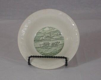 Vintage Homer Laughlin China Bowl Pastoral