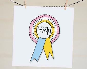Best Friend Birthday Card | Feminism | Mothers Day Card For Mom | Illustration Lovely Friendship Card | Handmade Friendship Gift For Mum