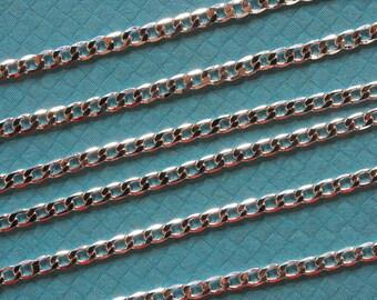 ❥ Chain mesh 925 sterling silver - silver chain