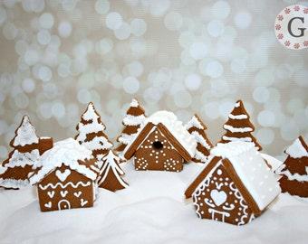 Mini Gingerbread House Cutter - 3 Pack