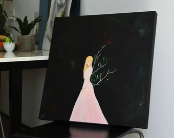 Nature Princess Painting